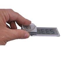Бесплатная доставка, Присоске цифровой термометр, Установлен в лобовое стекло автомобиля или зеркало заднего вида, Установленных на транспортных средствах термометр