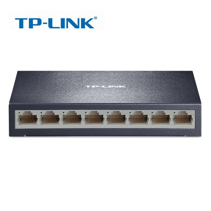TP-Link TL-SF1008D 8 Port Fast Switch RJ45 10/100Mbps Ethernet Network Switch Desktop Switch corsn cs 1008g 8 port 100mbps 1000mbps switch blue