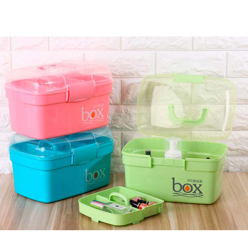 Baby Healthcare Kit Medical Care Set Portable Medicine Family Box Expenses First Aid Kit Medicine Box Child Baby Drug Storage Baby Care
