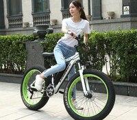 Новое поступление Fat Tire ebike 21 скорости 36 В в 350 Вт 8Ah литиевых батарея мощный электрический велосипед с алюминий сплав рамки