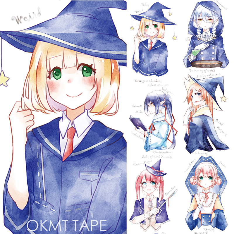 все цены на Magic School Masking Tape Decorative Washi Tape Scrapbooking Japanese Stationery Washitape Notebook Decoration Material Escolar
