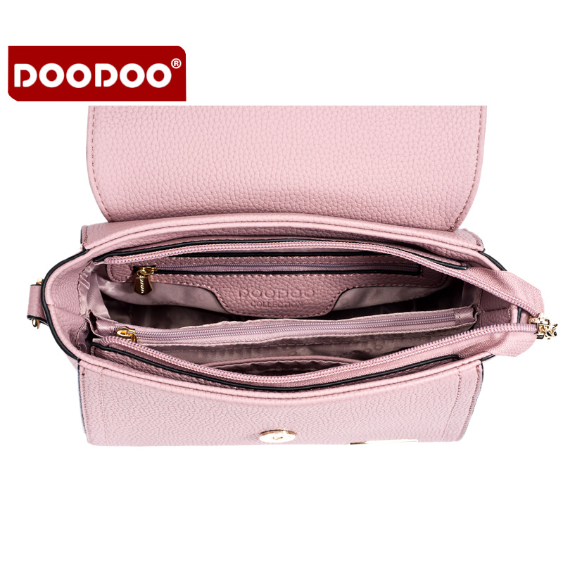 Doodoo Women S Bag Fashion Double Shoulder Strap Messenger Packet Luxury Brand Bags Small Square Package Handbag In From Luggage