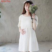 4b456a529 Moda embarazo Vestidos para mujeres embarazadas Maternidad ropa Otoño  Invierno Vestidos Maternidad mujeres ropa(China