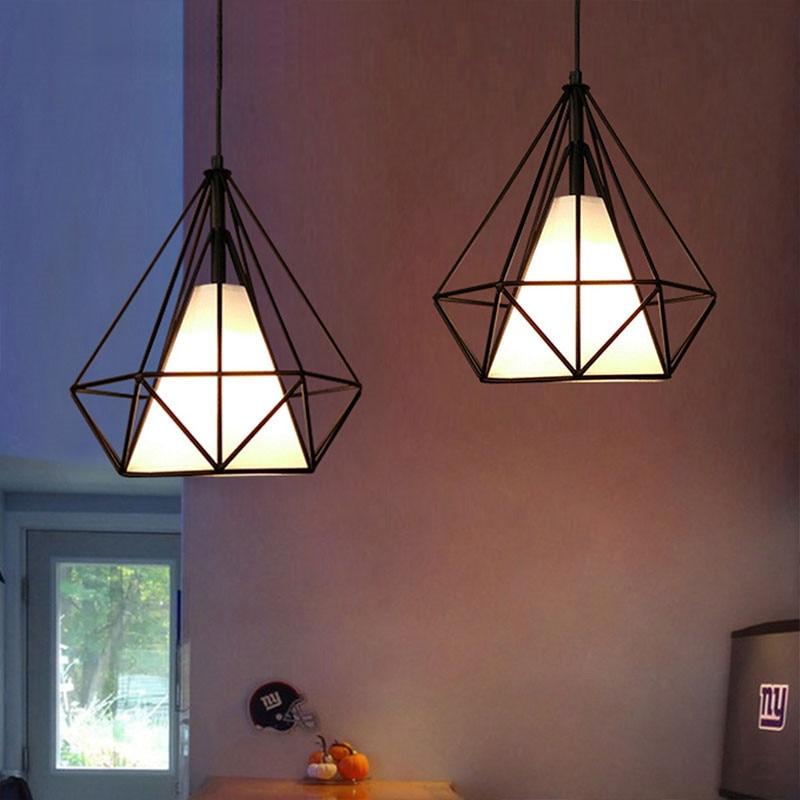 HTB1RLyRX8OD3KVjSZFFq6An9pXaf 20cm Vintage Industrial Rustic Flush Mount Ceiling Light Black / White Metal Lamp Fixture Nordic Style Creative Retro Light Lamp