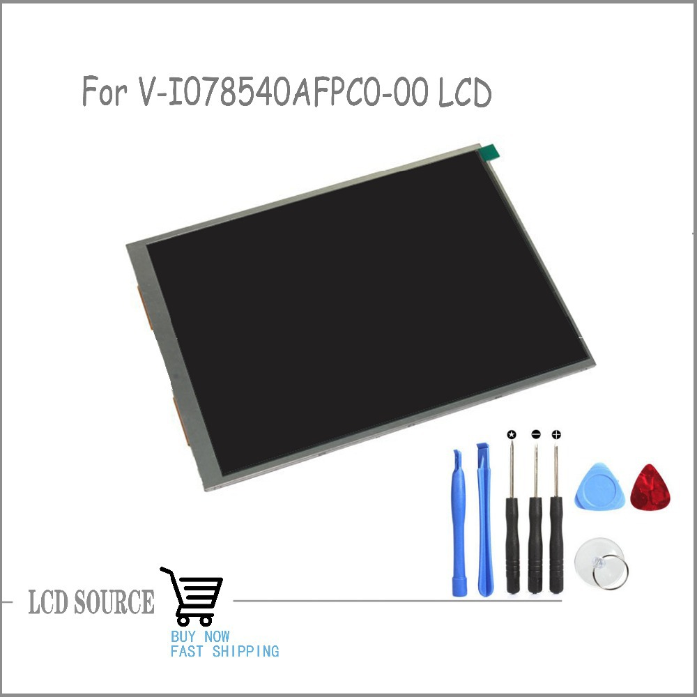 OEM 7.85 Inch V-I078540AFPC0-00 LCD TFT LCD Display Panel Glass Replacement Parts Free Tools