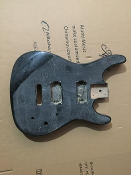 Afanti Music gitara elektryczna DIY korpus gitary elektrycznej (ADK-532) tanie i dobre opinie Beginner Unisex Do profesjonalnych wykonań Nauka w domu LIPA Drewno z Brazylii None Electric guitar Electric guitar body