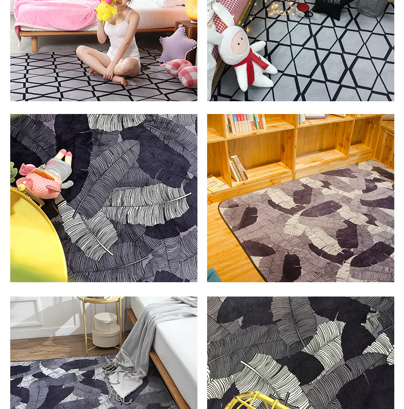 The New Arrival Long Plush Non Skid Water Absorption Carpet Prices Are Good For Your Home