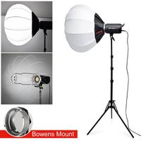 Jinbei EF 100II 5500K Studio LED Continuous Sun light Lamp Bowens Mount With 185cm Light Stand 65cm 25 Folding Softbox