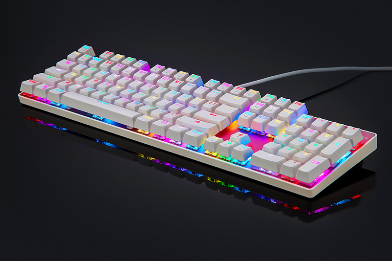 Motospeed CK104 Wired Mechanical Keyboard 104 Keys Real RGB Blue Switch Gaming LED Backlit Anti-Ghosting for Gamer Computer 13