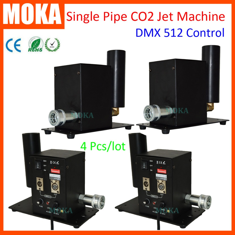 4 pcs/lot CO2 Jet Machine CO2 Blaster System Jet Cannon Machine CO2 Cryo Cannon Jet Machine co2 jet machine cryo fx cannon special effects pistola cryo jet co2 blaster special effects dj cryo jet gun cannoon