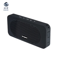 Wireless Bluetooth Mini Speaker 10W Portable Stereo Sound Box Built in Microphone Handsfree Speakerphone Waterproof with FM