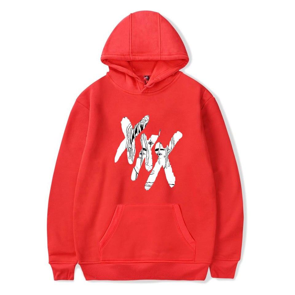 RIP venganza Xxxtentacion Hoodies triste hombres sudaderas Rap rapero Hip  Hop con capucha Sudadera Mujer Sudadera con capucha señoras en Camisas y  Sudaderas ... 1a3f7061418