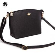 e7eb72adb Más pequeña corona imperial color caramelo bolsos nueva moda embrague  señoras partido bolso mujeres crossbody hombro
