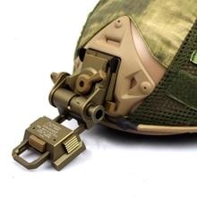 Алюминиевый L4G24 ОНВ Гора Airsoft пейнтбол аксессуары очки ночного видения тактический шлем крепление