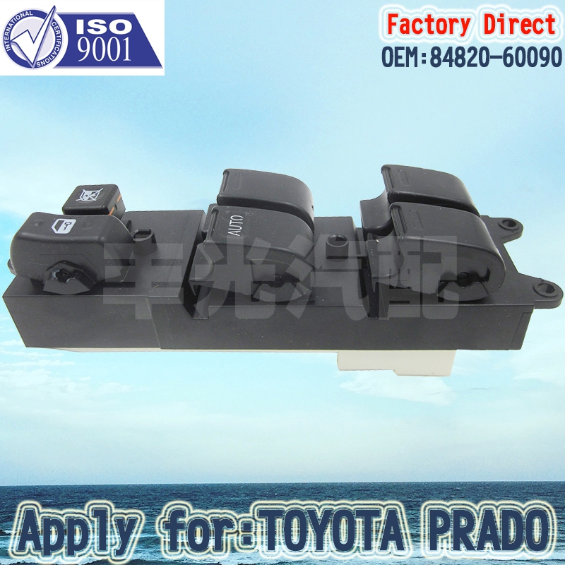Factory Direct  Power Window Auto Master Control Switch Apply For 97-02 Toyota Camry Corolla Avalon 84820-AA011 84820-60090