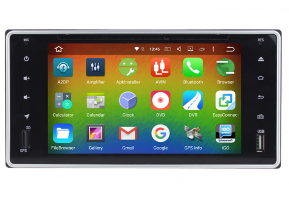 Cheap 6.2 Android 8.0 7.1 Car dvd player gps for Toyota Hilux Vios Camry Crown Corolla Prado RAV4 Yaris Octa Core 4GB RAM 32G ROM 1
