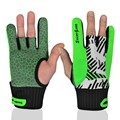 Boddun Fitness Gloves Sports Semi Finger Silicone Non-Slip Bowling Gloves Unisex Ball Gloves Mittens