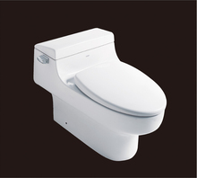 2019 hot sales water closet one-piece S-trap ceramic toilets with PVC adaptor UF soft close seat AST352 UPC certificate
