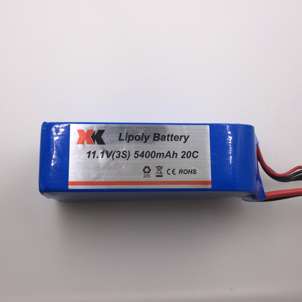 XK X380 battery 11.1V 5400mAh Lipo Battery XK X380 quadcopter batetry spare parts Free shipping 2016 hot sell 1pcs lipo battery 7 4 v 1200mah 30c for mxj x101 quadcopter spare parts made in china free shipping