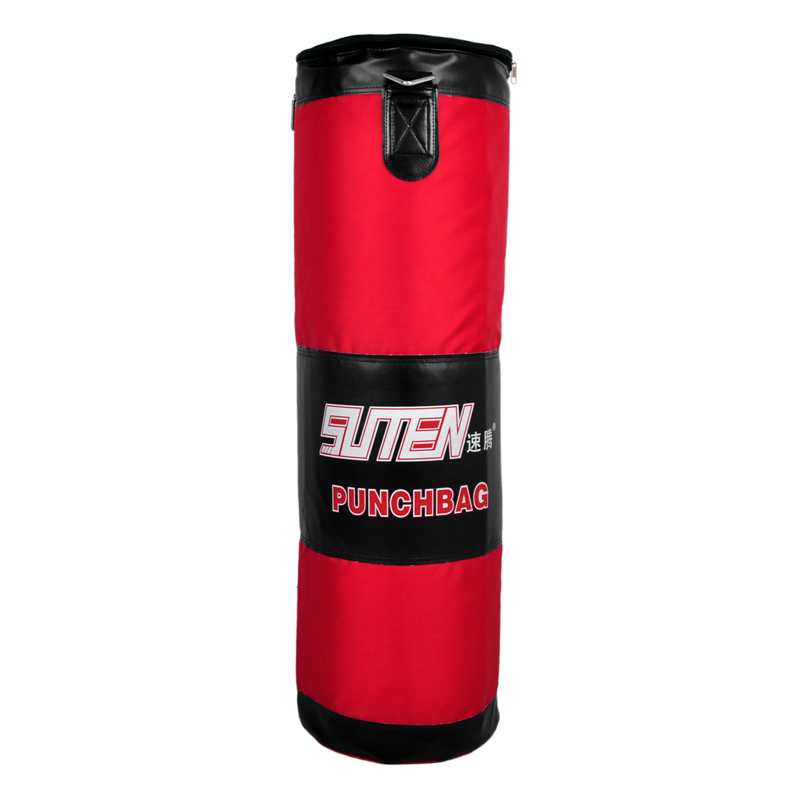 Hot Selling SUTEN 90cm Red Boxing Oxford Empty Sandbag Training Sanda Fighting Self-administered Lining Hanging Boxing Bag