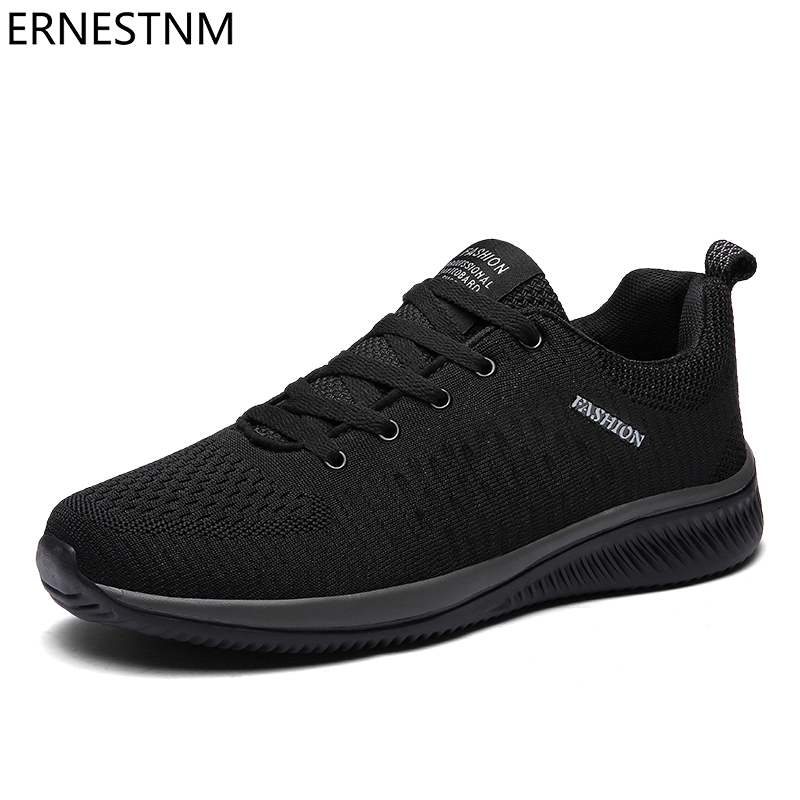 ERNESTNM Mesh Women Casual Shoes Lace-up Men Shoes Lightweight Plus Size Breathable Walking Sneakers Tenis Feminino Zapatos Flat
