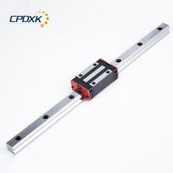 Linear motion guide 1000 millimetri 1 pc e linear motion guida del carrello HGH20CA/HGW20CC 1 pc