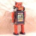 Búsqueda y Rescate Robot Juguetes Clásicos Juega Los Tambores Clockwork Tin Toy Retro Adulto Regalo de Colección