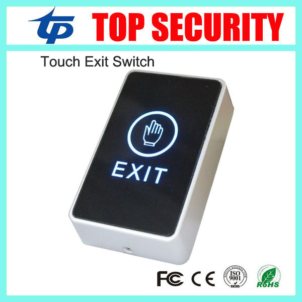Free shipping release exit button door exit switch with led light infrared exit push button 10pcs a lot for access control usb thermostat temperature control push button switch timer switch third gear with led light line 5v 2 5a