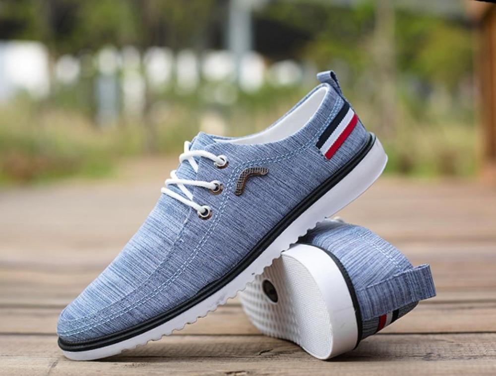 Estilo Boda 2019 De Cuero gray Transpirable Hombre Italiano Vestido Blue Los Derby Lona Casuales Traje Hombres Zapatos fgqRYf