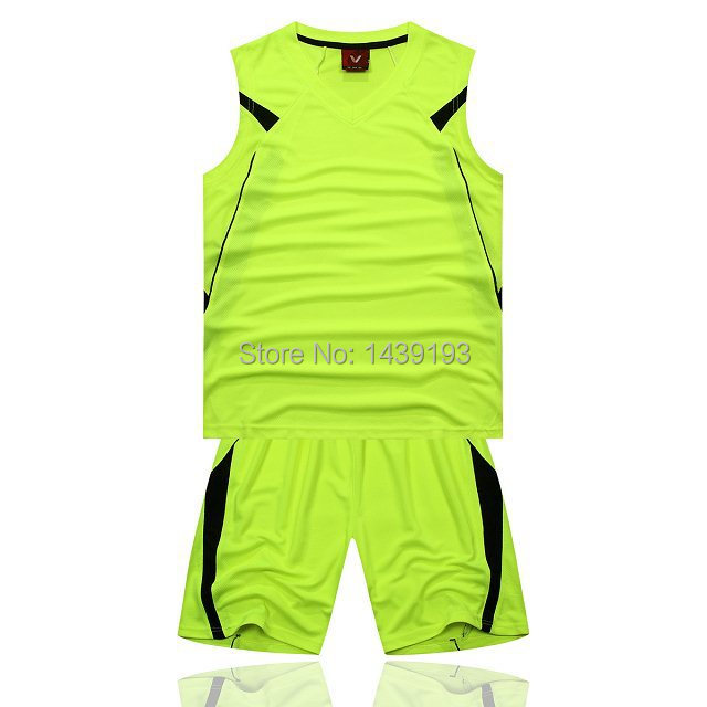 Black With Fluorescent Green Blank Jersey Custom Jersey Basketball