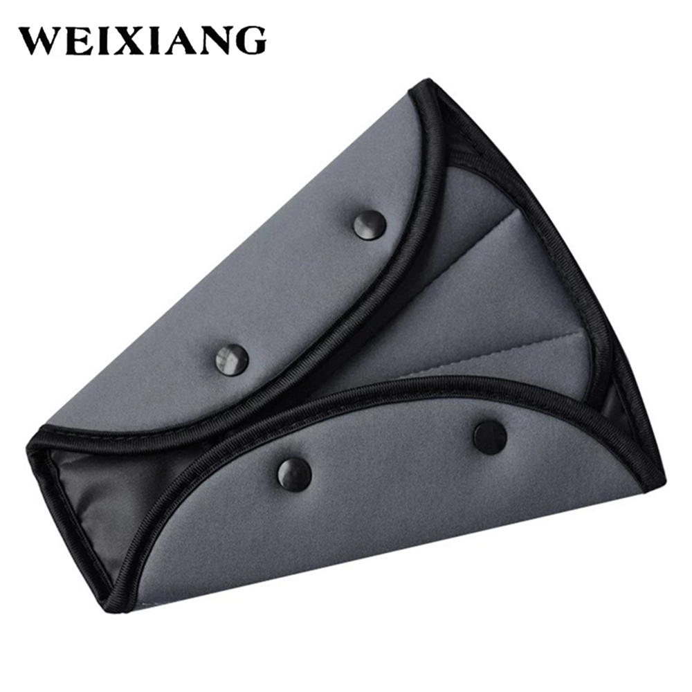 Child Car Seat Belt Triangle Adjuster Baby Chest Clip Lock Kids Safety Belts Pad Blue Red Gray Orange In Padding From Automobiles