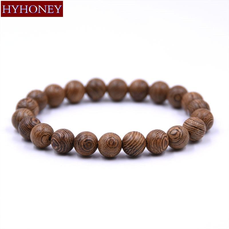 Gros bracelet en bois