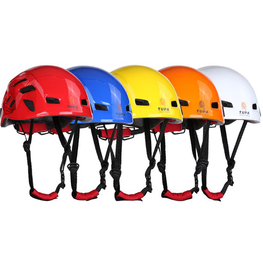 Adjustable Outdoor Sports Mountaineering Helmet Safety Climbing Rappelling Protect Gear for Horse Riding Ventilated Cycling xinda outdoor professional climbing mountaineering rock caving rescue safety belt polyester bust harness rappelling safety belt