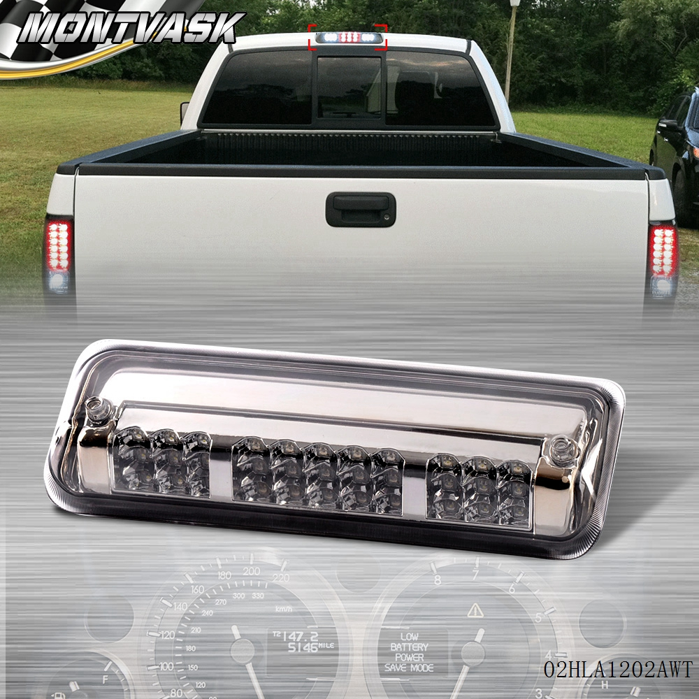 Free Shipping For 2004 -2008 F150/Explorer Housing Rear 3rd Brake Cargo Led Tail Light ...