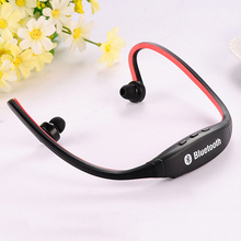 New Fashion S9 Bluetooth 4.0 Version Sports Gym Music Earphones for Workout Sweat Proof Wireless +Mic Universal Call Answering