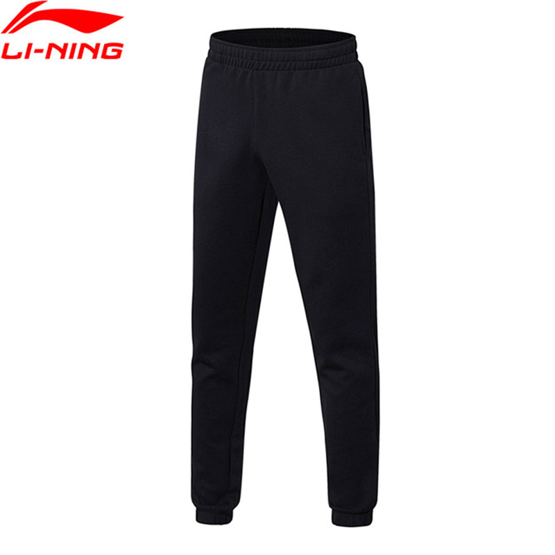 Li-Ning 2018 Men The Trend Sweat Pants 72% Cotton 28% Polyester Regular Fit Li Ning Comfort Sport Pants Trousers AKLN009 airgracias elasticity jeans men high quality brand denim cotton biker jean regular fit pants trousers size 28 42 black blue