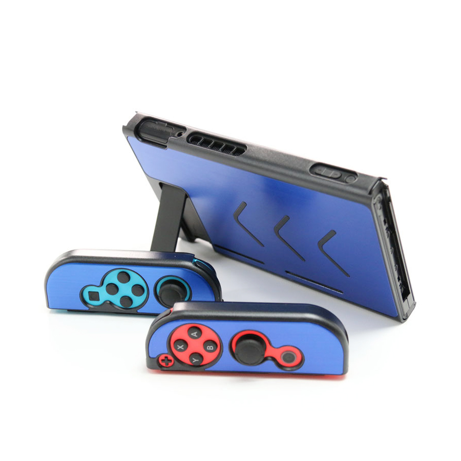 Nintend Accessories 5 Colors Hard Metal Nintend Console Case Shockproof Protective Cover for Nintend Switch NS Console Joy-con 3