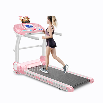 4009 Foldable Installation-Free Walking Machine or Treadmill with Handrail for Fitness