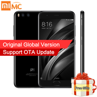 Global Version Xiaomi Mi 6 Mi6 Smartphone 6GB RAM 64GB ROM Snapdragon 835 Octa Core 5.15'' 1080P 12.0MP Dual Cameras Android 7.1