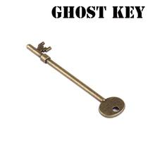 Призрак ключ(ключ с привидениями) магические трюки магический скелет ключ маг закрыть иллюзии, трюк, реквизит движущийся ментализм забава