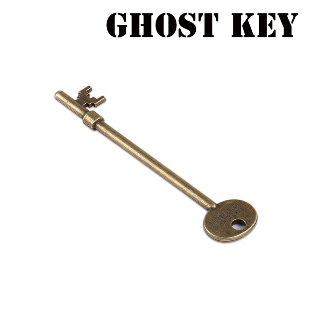 Geist Schlüssel (Haunted Key) magie Tricks Magia Skeleton Key Zauberer Close Up Illusions Gimmick Requisiten Moving Erscheinen Mentalismus Spaß