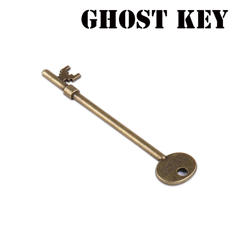 Ghost Key (Haunted Key) Magic Tricks Magia Skeleton Key Magician Close Up Illusions Gimmick Props Moving Appearing Mentalism Fun-in Magic Tricks from Toys & Hobbies