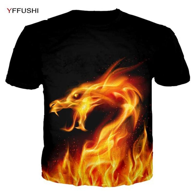 e2234ef16 Aliexpress.com : Buy YFFUSHI 2018 3d t shirt Male Short Sleeve Tops Snow Wolf  3d Printing Animal Tshirts Streetwear Hip Hop Tees Men Plus Size 5XL from  ...