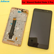 цена на Original Xiaomi Redmi Note 3 Lcd Display + digitizer touch screen Assembly +Frame+ Tools For Xiaomi Hongmi Note 3 phone