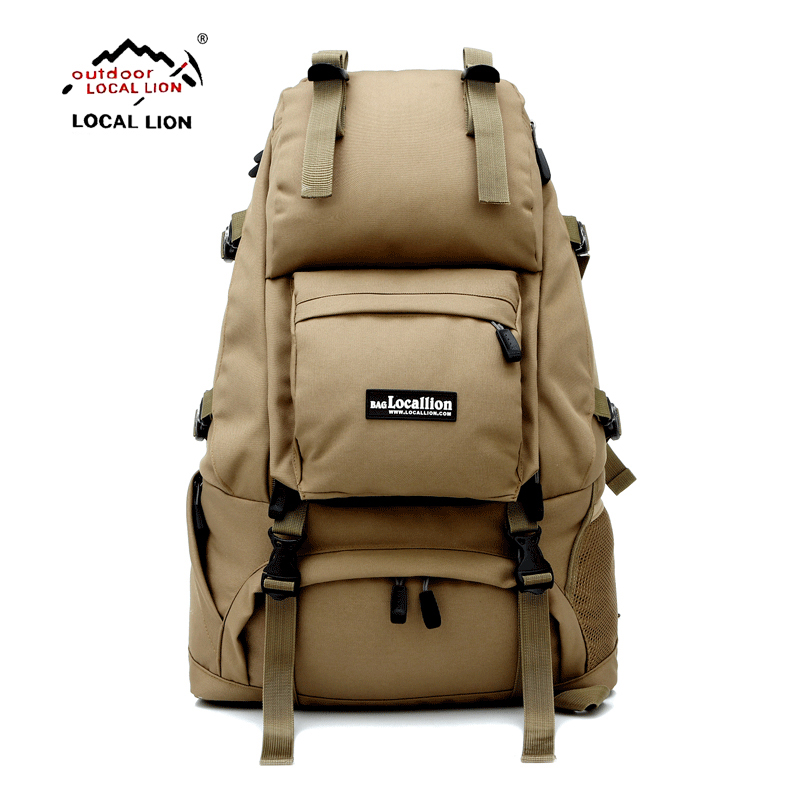 40L Internal Frame Climbing Bag Waterproof Polyester Material Unisex Travel Backpack for Camping Hiking Outdoor Backpack 60l external frame climbing bag waterproof polyester material unisex travel backpack for camping hiking outdoor with rain cover