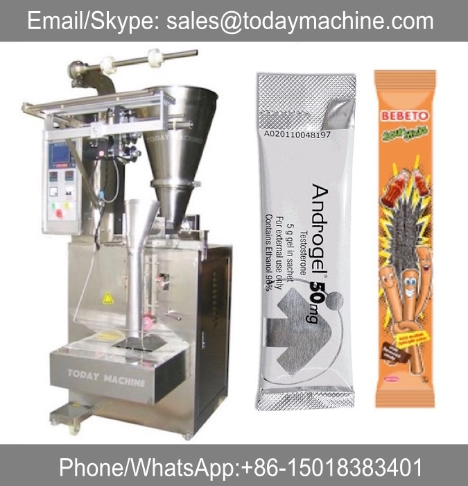 Automatic medical powder pouch bag packing machine