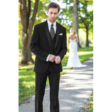 mens suits wedding groom 2016 3 piece suits wool bleed for men suit black custom made suit tuxedo