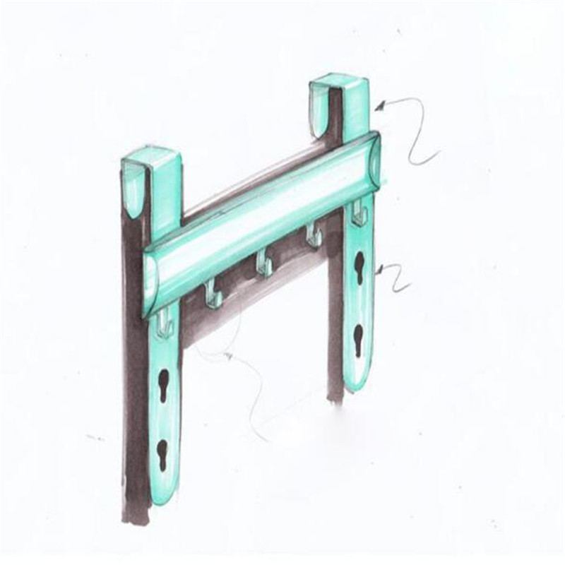 Ctree 1pcs Organizer Hanging Hooks Cupboard Door Hook Cabinet Back