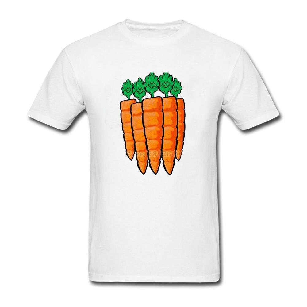 Zazzle t shirt design size -  Cotton Short Sleeve Custom Carrot Food Orange T Shirt Vegan Vegetable Summer Camiseta Big Size T