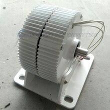 400 Вт/500 Вт/600 Вт 12 В/24 В/48 В переменного тока Низкая скорость постоянный магнит генератор с базой